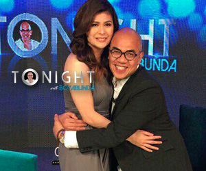 PHOTOS: Roxanne Guinoo on Tonight with Boy Abunda