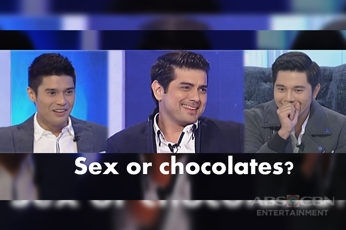 Sex vs. Chocolates: 45 celebrities and their answers to TWBA Fast ...