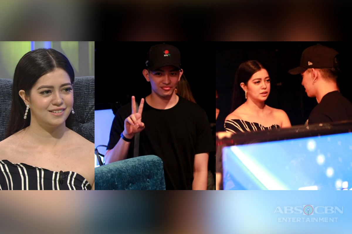 BEHIND-THE-SCENES: Joao Constancia spotted supporting Sue Ramirez on TWBA!