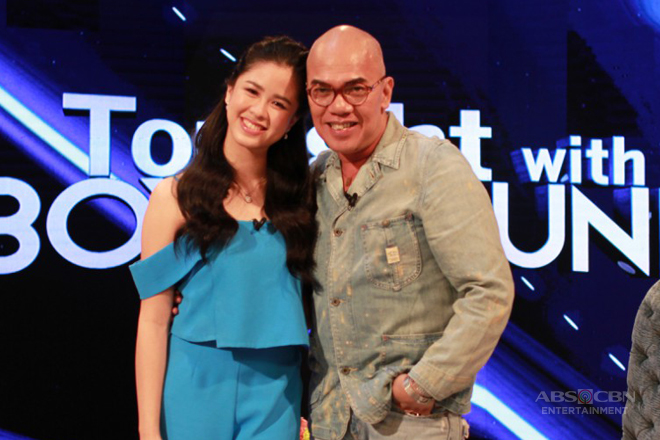 PHOTOS: Kisses Delavin on Tonight With Boy Abunda