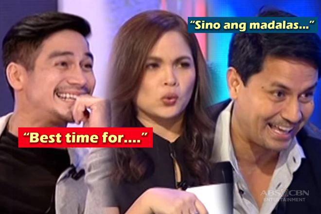 LOOK: 19 Celebrities answered the naughtiest questions on TWBA!