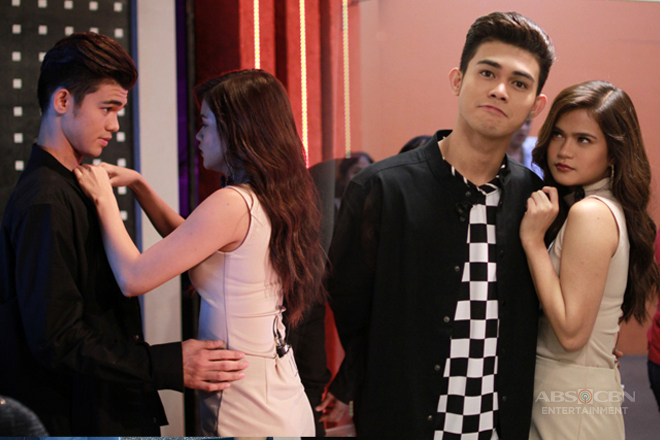 PHOTOS: MarNigo's off-cam kilig moments on TWBA!