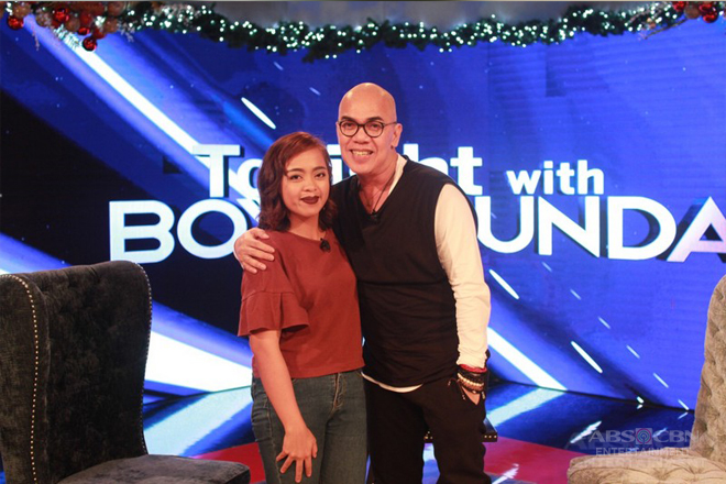 PHOTOS: Donna Cariaga on Tonight With Boy Abunda