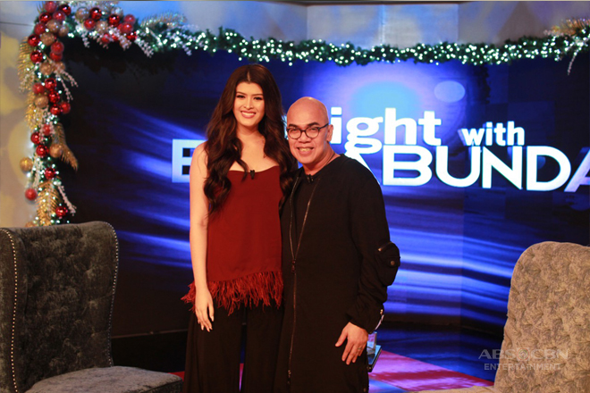 PHOTOS: Mariel de Leon on Tonight With Boy Abunda