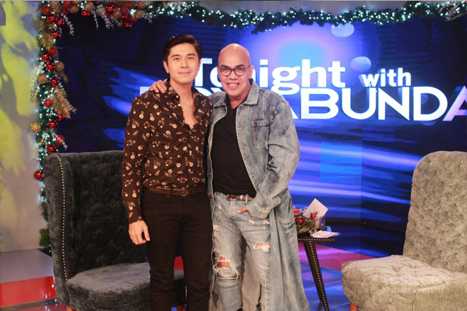 PHOTOS: Paolo Avelino on Tonight With Boy Abunda