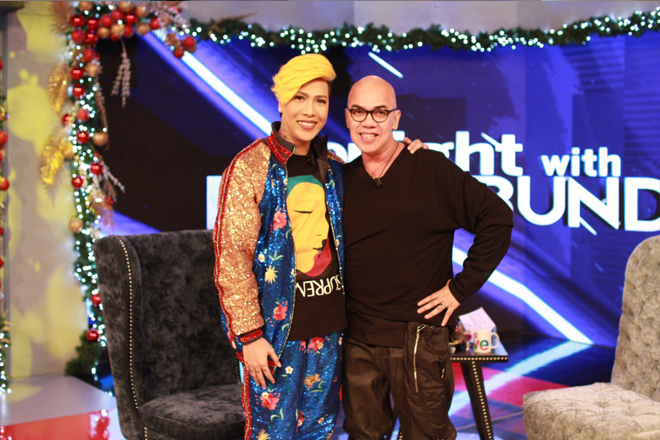PHOTOS: Vice Ganda on Tonight With Boy Abunda