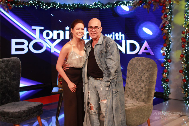 PHOTOS: Erich Gonzales on Tonight With Boy Abunda