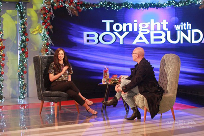 PHOTOS: Kylie Versoza on Tonight With Boy Abunda