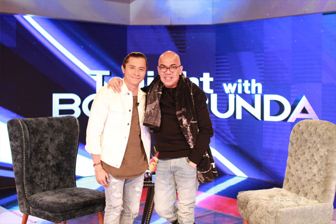 PHOTOS: JC Santos on Tonight With Boy Abunda