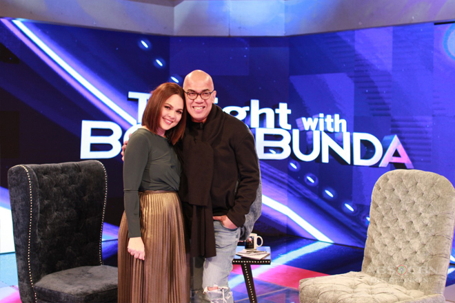 PHOTOS: Judy Ann Santos on Tonight With Boy Abunda