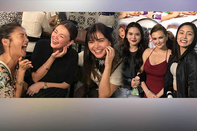 PHOTOS: The unexpected friendship of Angelica, Bela, & Kim that we wish to have!