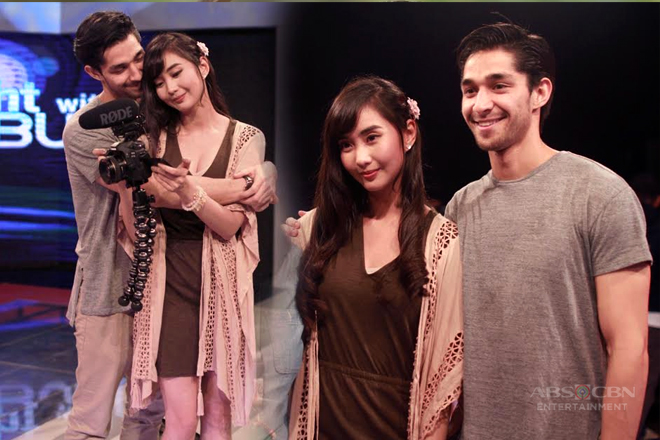 PHOTOS: Wil and Alodia's offcam sweetness on TWBA!