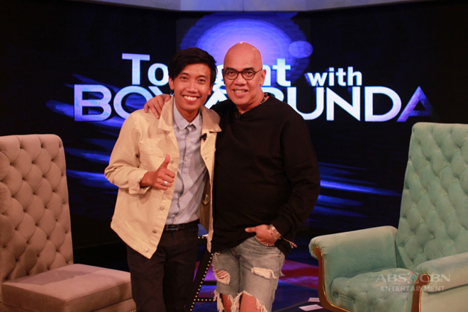 PHOTOS: Joven Olvido on Tonight With Boy Abunda