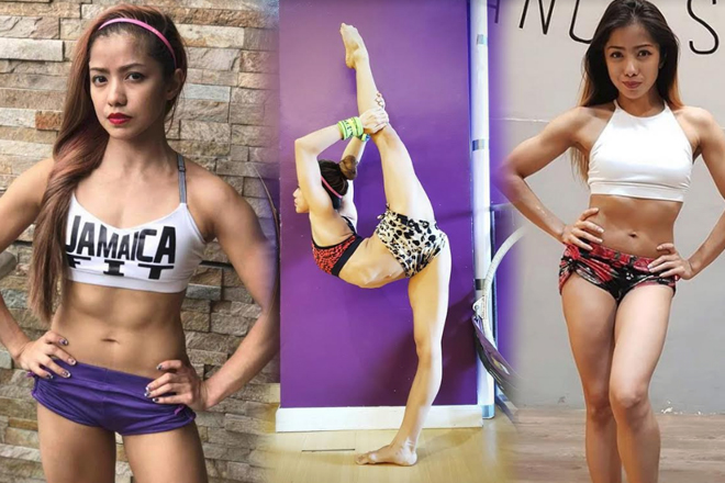ABSolutely impressive! 25 Photos of Kristel De Catalina showing her flexible and toned body