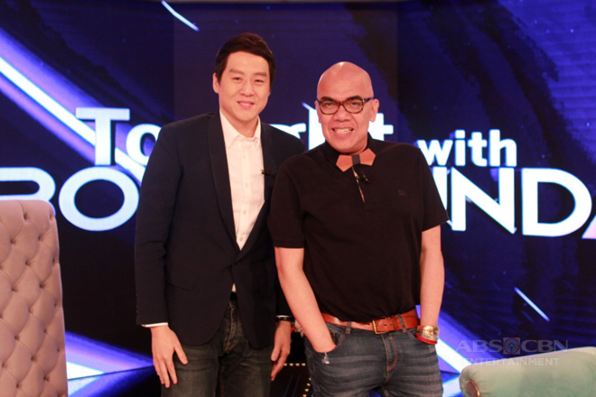 PHOTOS: Richard Poon on Tonight With Boy Abunda