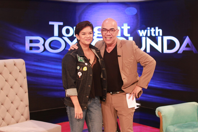 PHOTOS: Meryll Soriano on Tonight With Boy Abunda