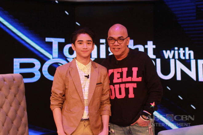 PHOTOS: Zaijan Jaranilla on Tonight With Boy Abunda