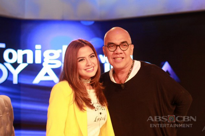 PHOTOS: Alexa Ilacad on Tonight With Boy Abunda