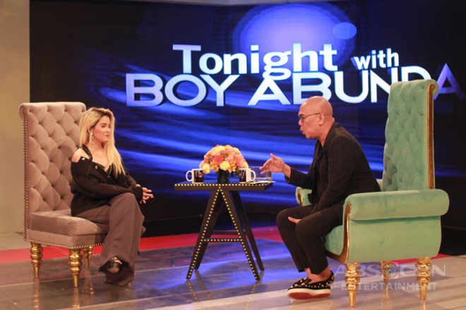 PHOTOS: KZ Tandingan on Tonight With Boy Abunda