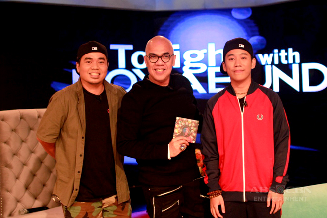 PHOTOS: Shanti Dope and Gloc 9 on Tonight With Boy Abunda