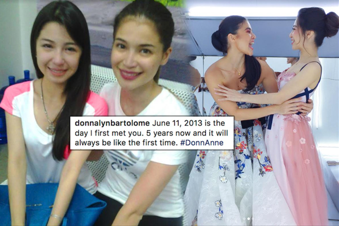 LOOK: These photos will prove that Donnalyn Bartolome is a certified fan of Anne Curtis!