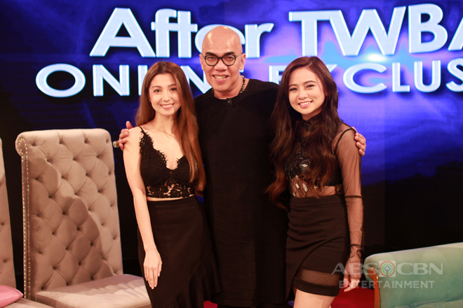 PHOTOS: Ella Cruz and Donnalyn Bartolome on Tonight With Boy Abunda