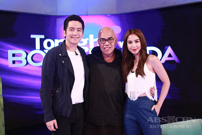 PHOTOS: Joshua Garcia and Julia Barretto on Tonight With Boy Abunda