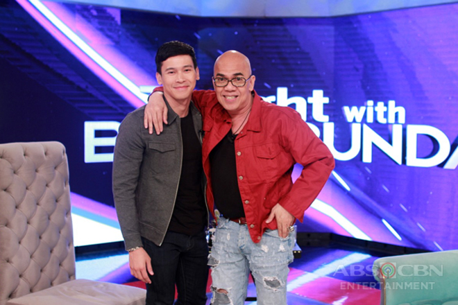 PHOTOS: Enchong Dee on Tonight With Boy Abunda