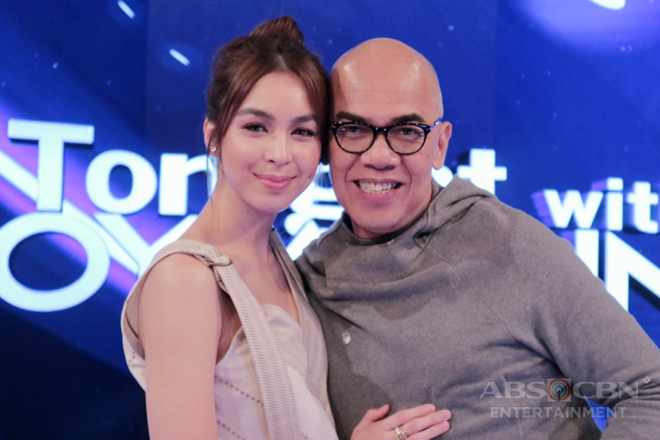 PHOTOS: Julia Barretto on Tonight With Boy Abunda