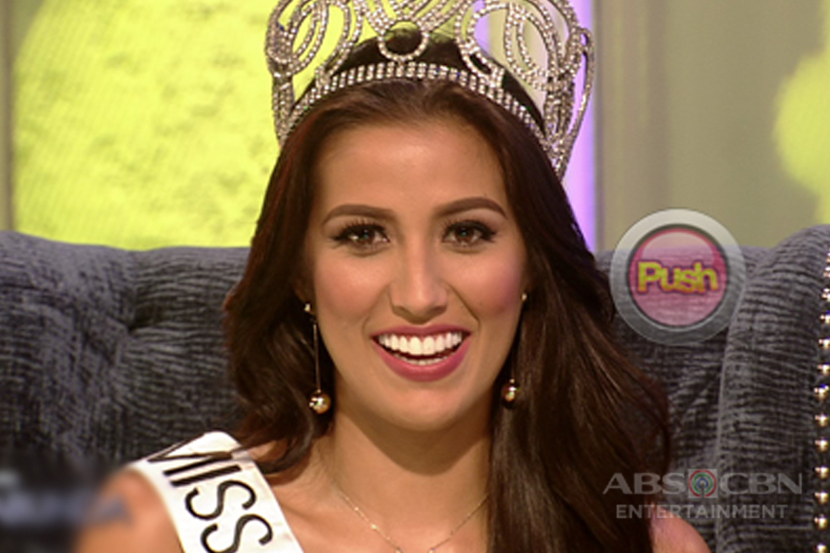 Miss Universe Philippines 2017 Rachel Peters opens up about her relationship with Migs Villafuerte