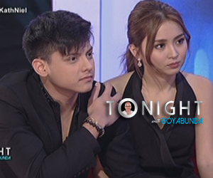 What's keeping Kathniel from officially being a couple?
