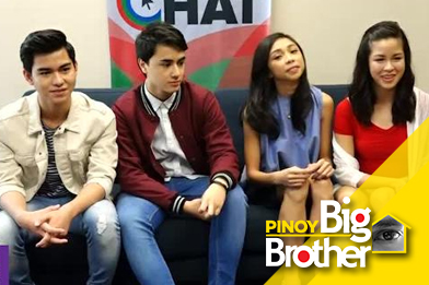 Up close and personal with the PBB Lucky Season 7 Big 4
