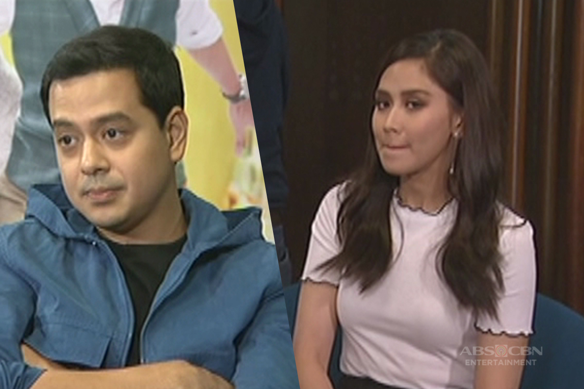 John Lloyd Cruz pulls a prank on Sarah G