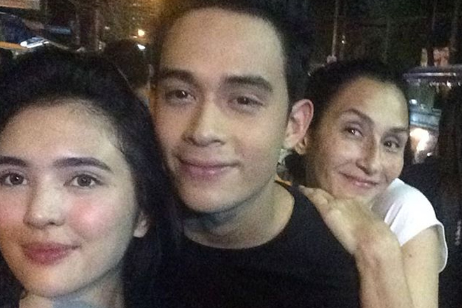 Does Teresa Loyzaga like Sofia Andres?