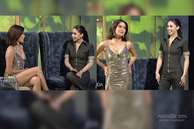 Image result for julia barretto and erich gonzales in tonight with boy abunda
