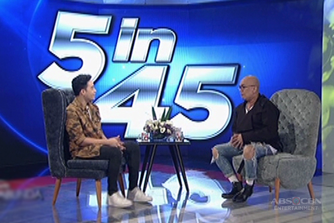 TWBA 5 in 45: Diego Loyzaga shares 5 facts that people don't know about him!