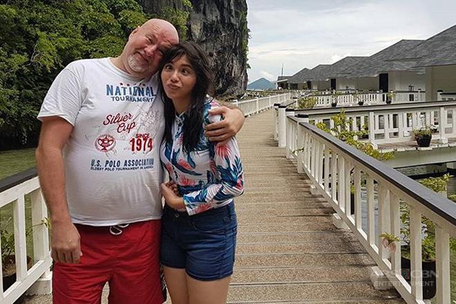 Julia, umaasang madalaw niya ang kanyang Daddy Martin sa Germany