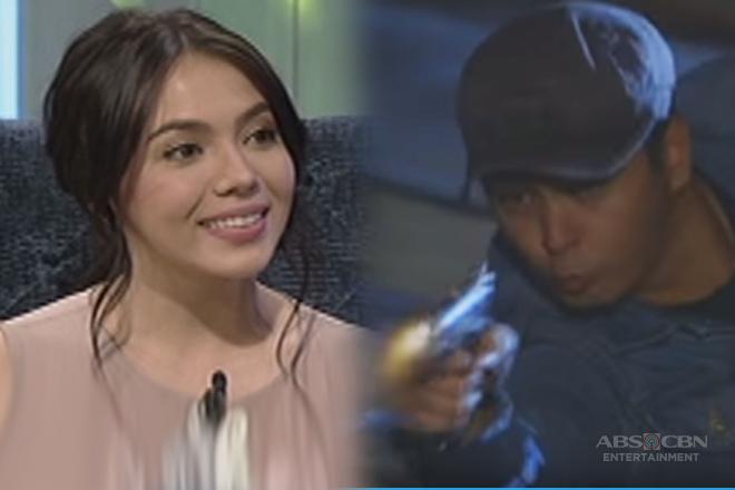 May nagturo ba kay Julia sa paghawak ng baril at action scenes sa Asintado?