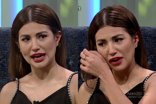 Nathalie Hart becomes emotional on TWBA