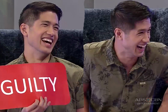 Aljur Abrenica takes on the 'guilty or innocent' challenge