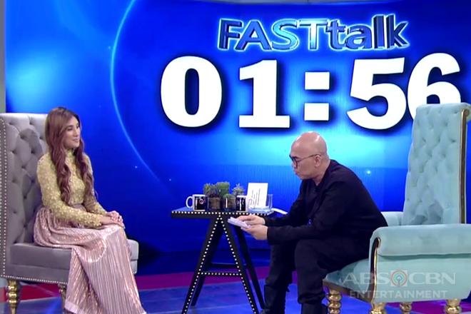 Fast Talk with Arabelle Dela Cruz