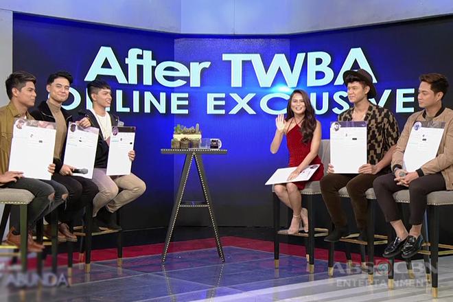 TWBA Online Exclusive with Elisse Joson and Boyband PH