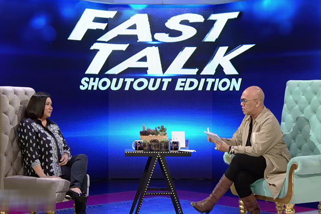 Fast Talk Shout Out Edition with Alma Moreno
