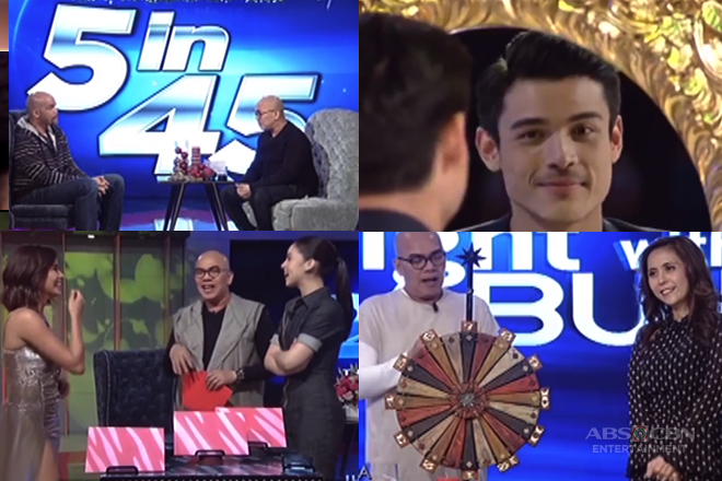 PAANDAR 2017: Tonight With Boy Abunda's unique and amusing interview gimmicks