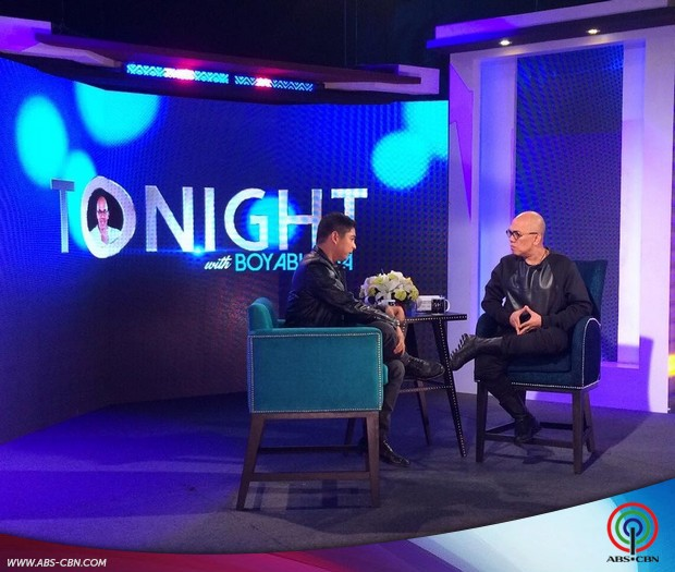 PHOTOS: Idol Ng Masa Coco Martin on Tonight With Boy Abunda
