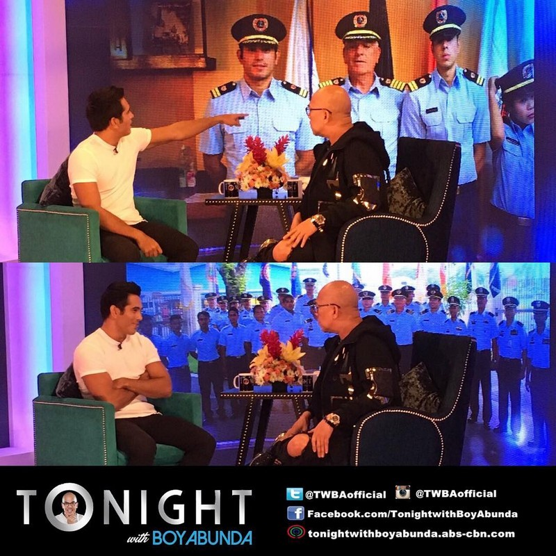 PHOTOS: Gerald Anderson on Tonight With Boy Abunda