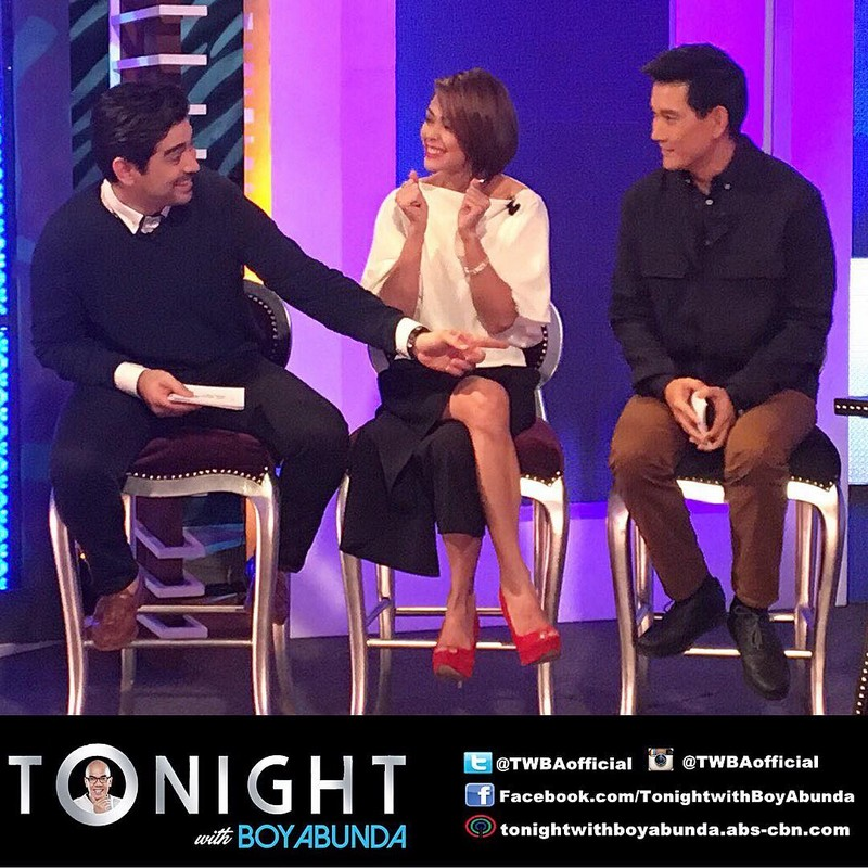 PHOTOS: Jodi, Ian and Richard on Tonight With Boy Abunda