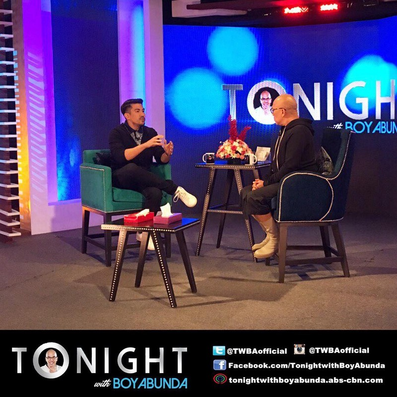 PHOTOS: Luis Manzano on Tonight With Boy Abunda