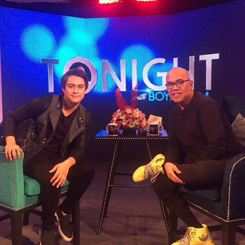PHOTOS: Enrique Gil on Tonight With Boy Abunda