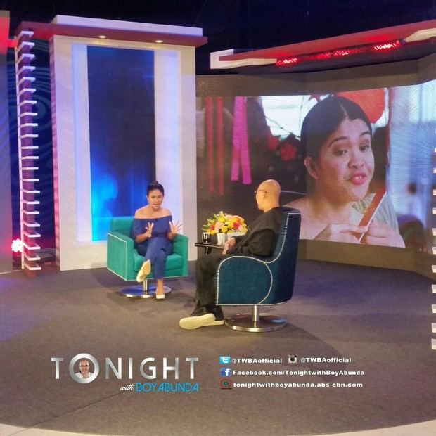 Melai Cantiveros on Tonight with Boy Abunda